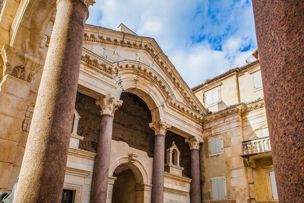 克罗地亚斯普利特(Split),老城建筑_图1-10