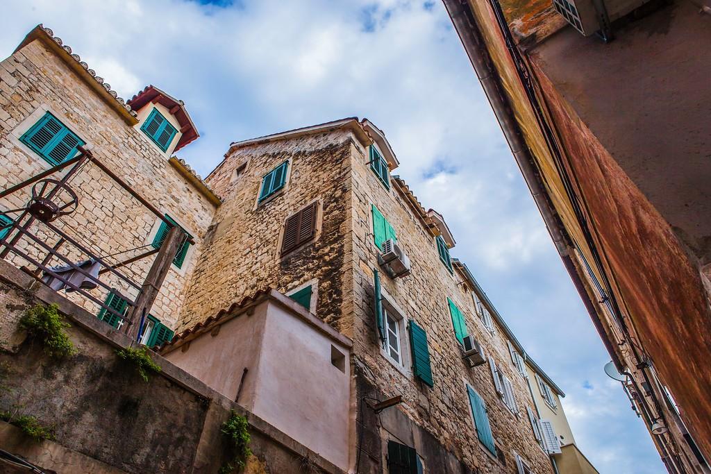 克罗地亚斯普利特(Split),老城建筑_图1-15