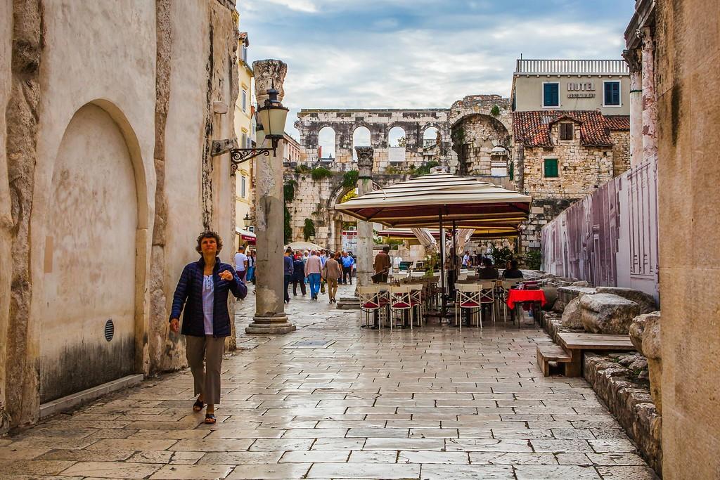 克罗地亚斯普利特(Split),老城建筑_图1-5
