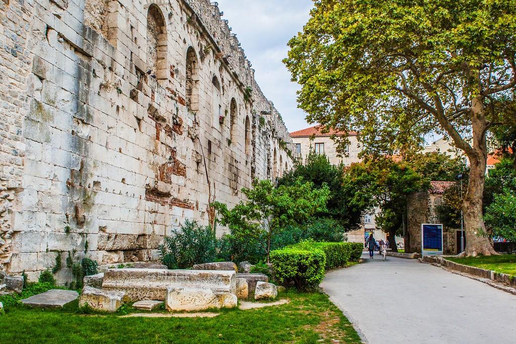 克罗地亚斯普利特(Split),老城建筑_图1-6