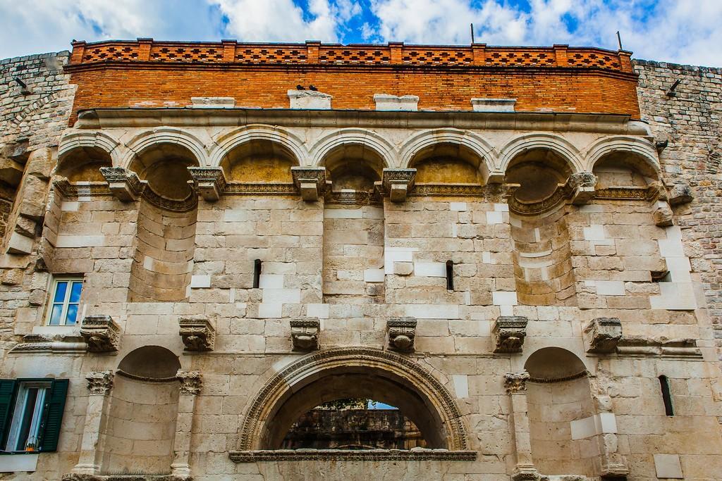 克罗地亚斯普利特(Split),老城建筑_图1-2