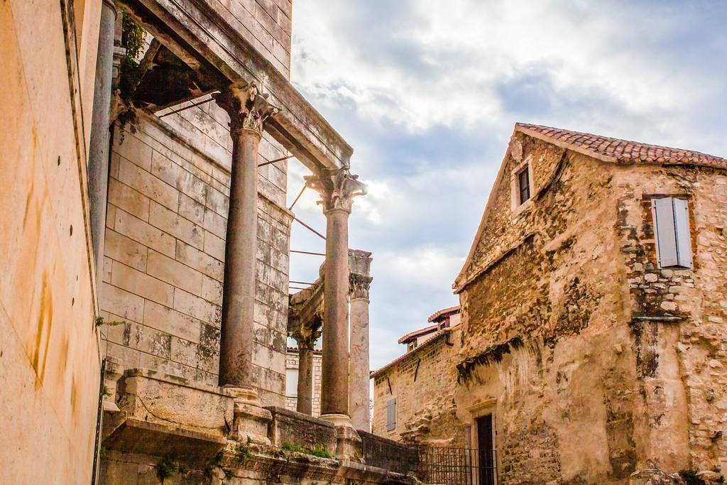 克罗地亚斯普利特(Split),老城建筑_图1-7