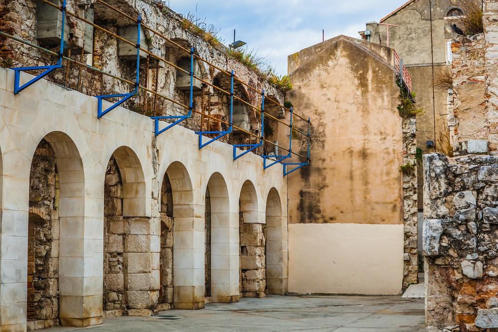 克罗地亚斯普利特(Split),老城建筑_图1-4
