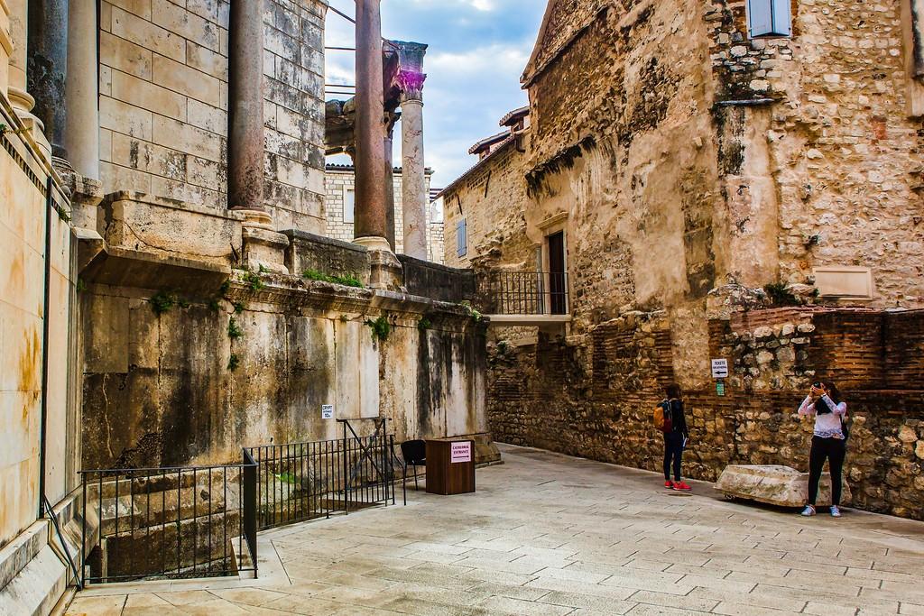 克罗地亚斯普利特(Split),老城建筑_图1-29