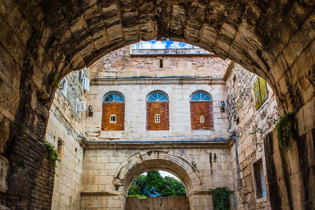 克罗地亚斯普利特(Split),老城建筑_图1-30