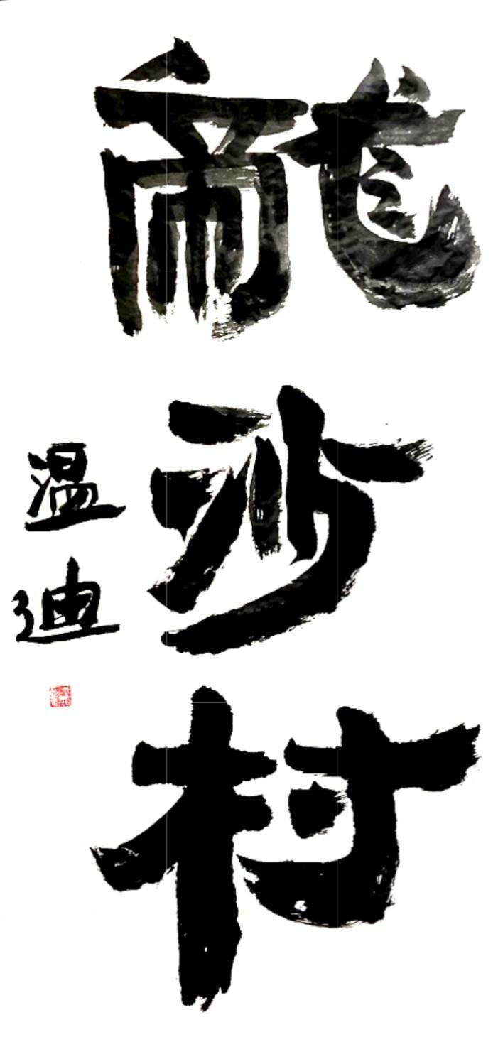 """纽约闽籍书法家為""""乡村题寫书法""""活动_图1-59"""