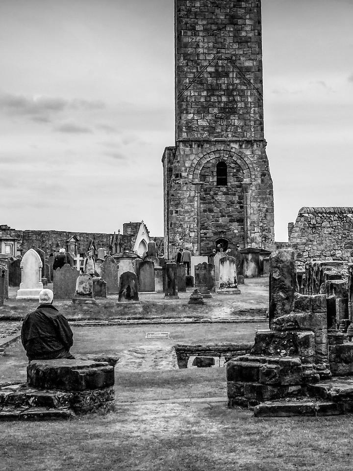 苏格兰圣安德鲁主教座堂(Cathedral of St Andrew)遗迹,曾经的辉煌 ..._图1-15