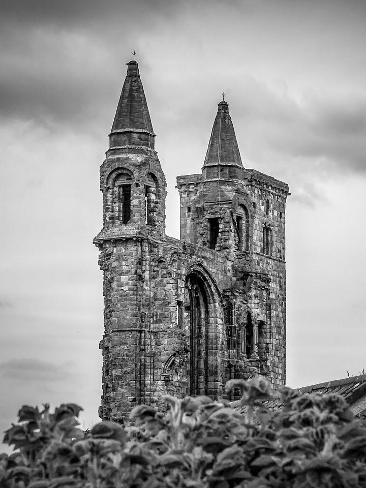 苏格兰圣安德鲁主教座堂(Cathedral of St Andrew)遗迹,曾经的辉煌 ..._图1-13