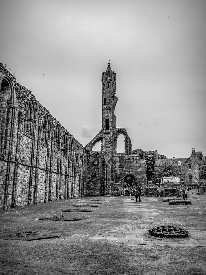 苏格兰圣安德鲁主教座堂(Cathedral of St Andrew)遗迹,曾经的辉煌 ..._图1-14