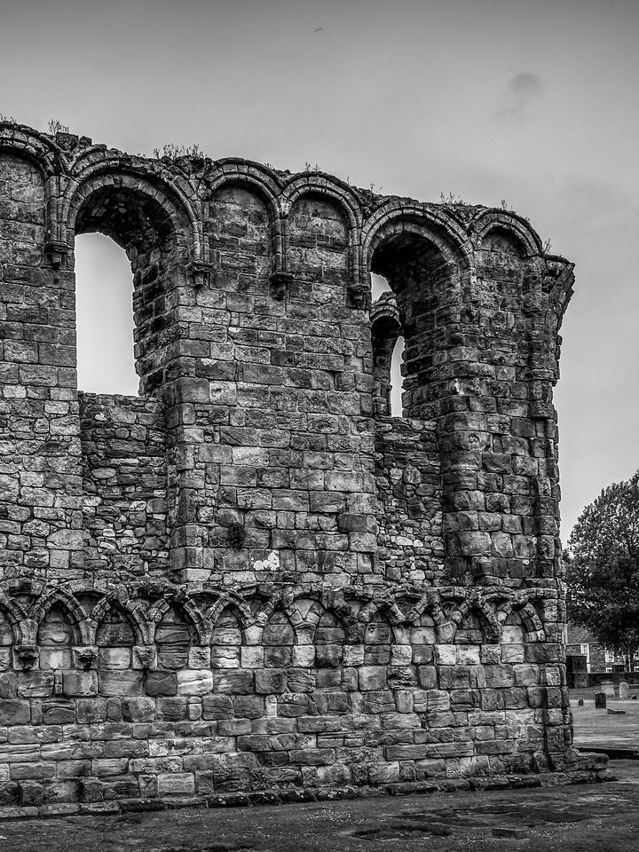 苏格兰圣安德鲁主教座堂(Cathedral of St Andrew)遗迹,曾经的辉煌 ..._图1-10