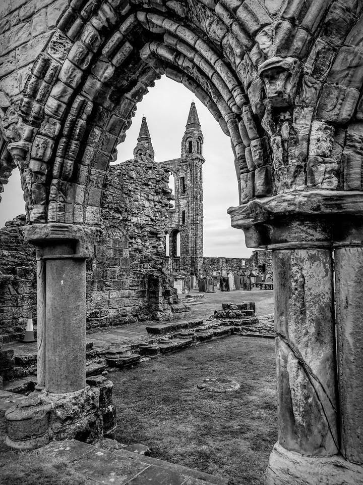 苏格兰圣安德鲁主教座堂(Cathedral of St Andrew)遗迹,曾经的辉煌 ..._图1-12