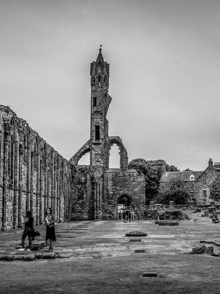 苏格兰圣安德鲁主教座堂(Cathedral of St Andrew)遗迹,曾经的辉煌 ..._图1-7