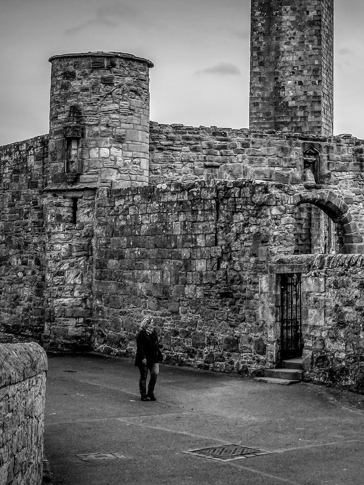 苏格兰圣安德鲁主教座堂(Cathedral of St Andrew)遗迹,曾经的辉煌 ..._图1-8