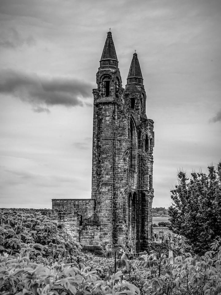 苏格兰圣安德鲁主教座堂(Cathedral of St Andrew)遗迹,曾经的辉煌 ..._图1-6