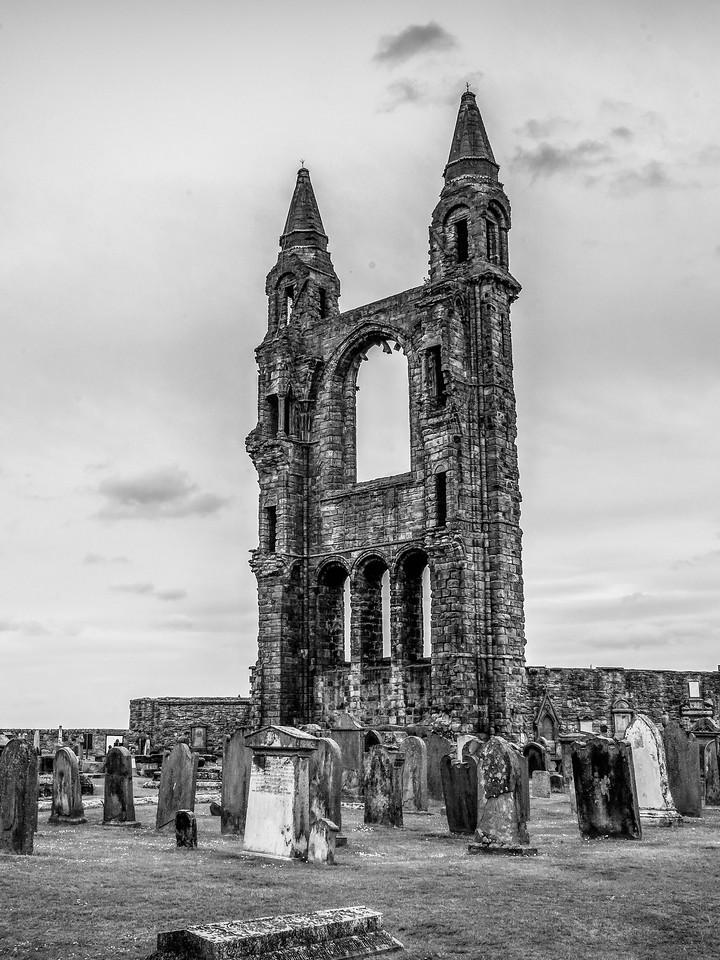 苏格兰圣安德鲁主教座堂(Cathedral of St Andrew)遗迹,曾经的辉煌 ..._图1-5