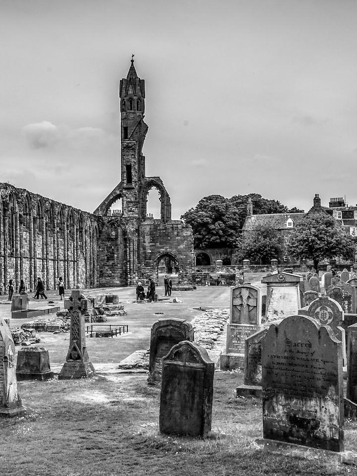 苏格兰圣安德鲁主教座堂(Cathedral of St Andrew)遗迹,曾经的辉煌 ..._图1-17