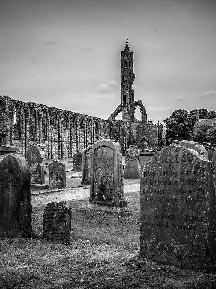 苏格兰圣安德鲁主教座堂(Cathedral of St Andrew)遗迹,曾经的辉煌 ..._图1-4