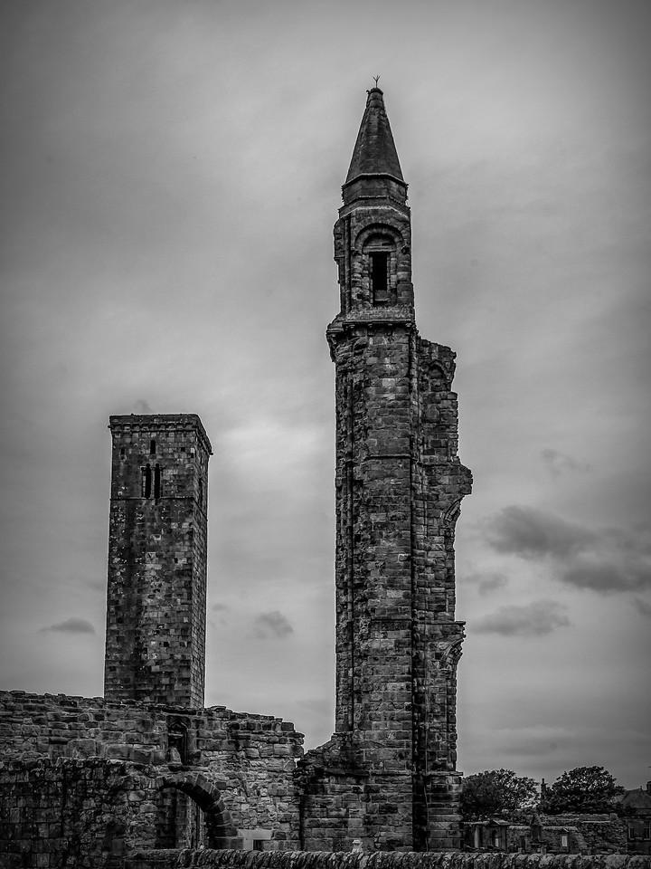 苏格兰圣安德鲁主教座堂(Cathedral of St Andrew)遗迹,曾经的辉煌 ..._图1-3