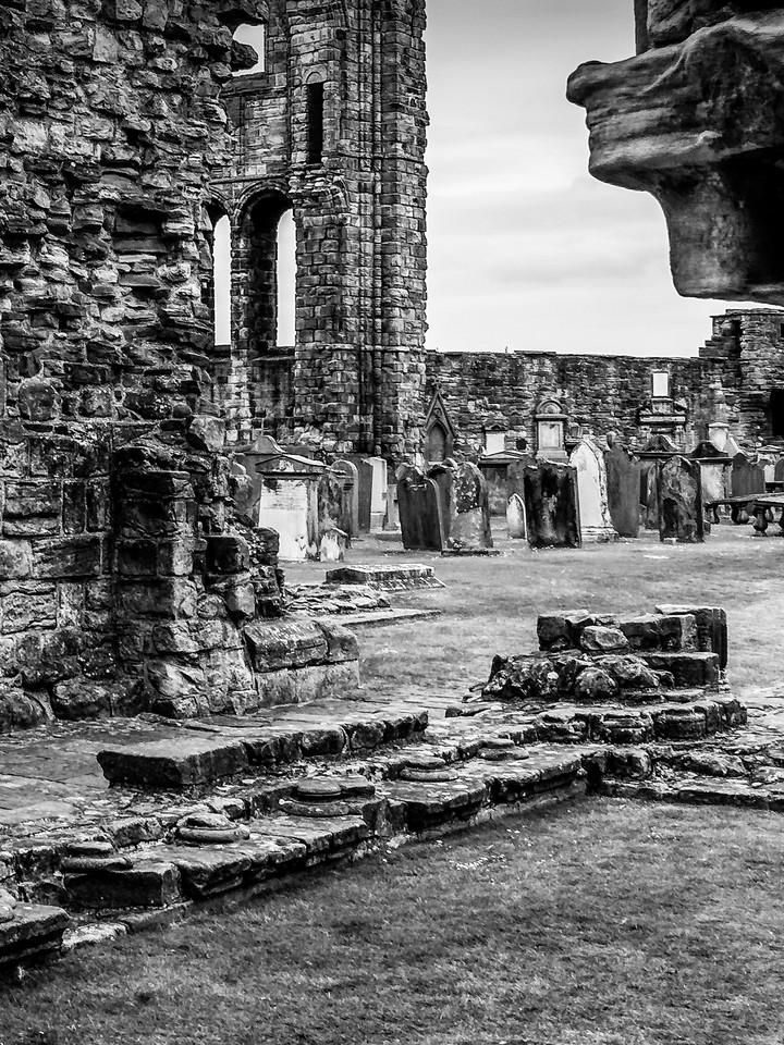 苏格兰圣安德鲁主教座堂(Cathedral of St Andrew)遗迹,曾经的辉煌 ..._图1-19