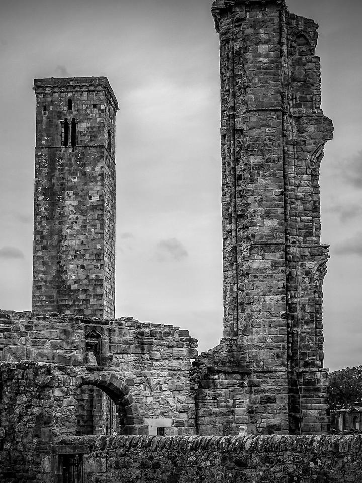 苏格兰圣安德鲁主教座堂(Cathedral of St Andrew)遗迹,曾经的辉煌 ..._图1-24