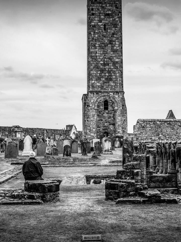 苏格兰圣安德鲁主教座堂(Cathedral of St Andrew)遗迹,曾经的辉煌 ..._图1-21