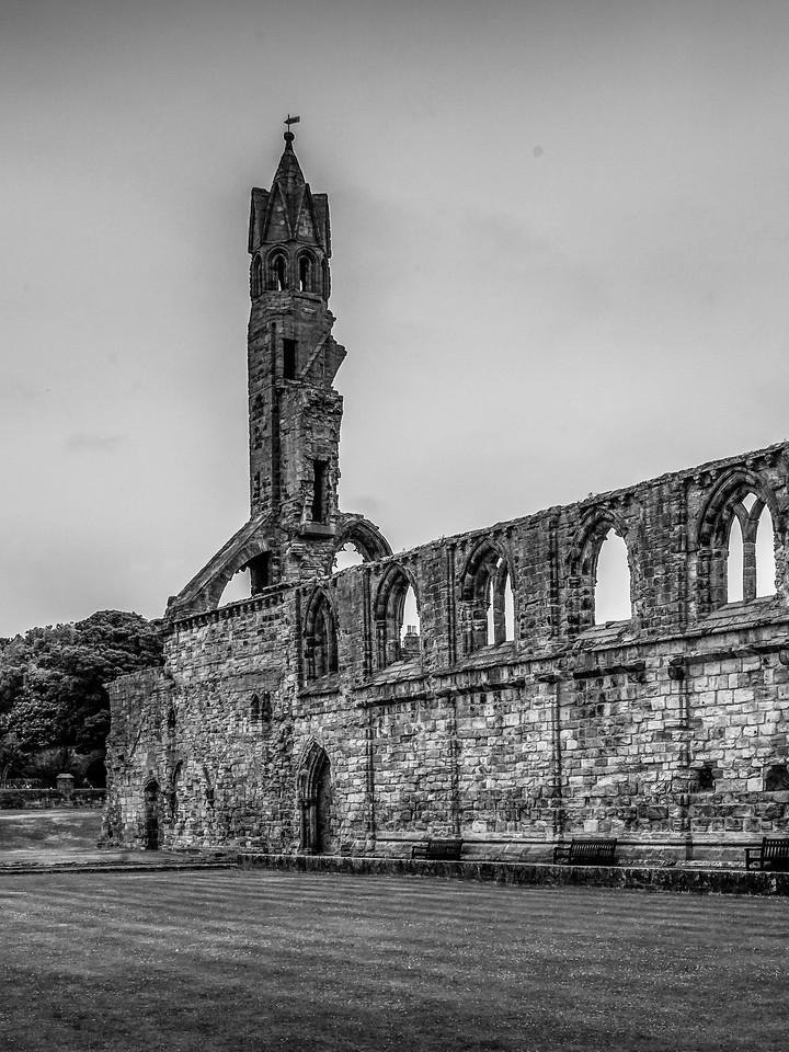 苏格兰圣安德鲁主教座堂(Cathedral of St Andrew)遗迹,曾经的辉煌 ..._图1-23