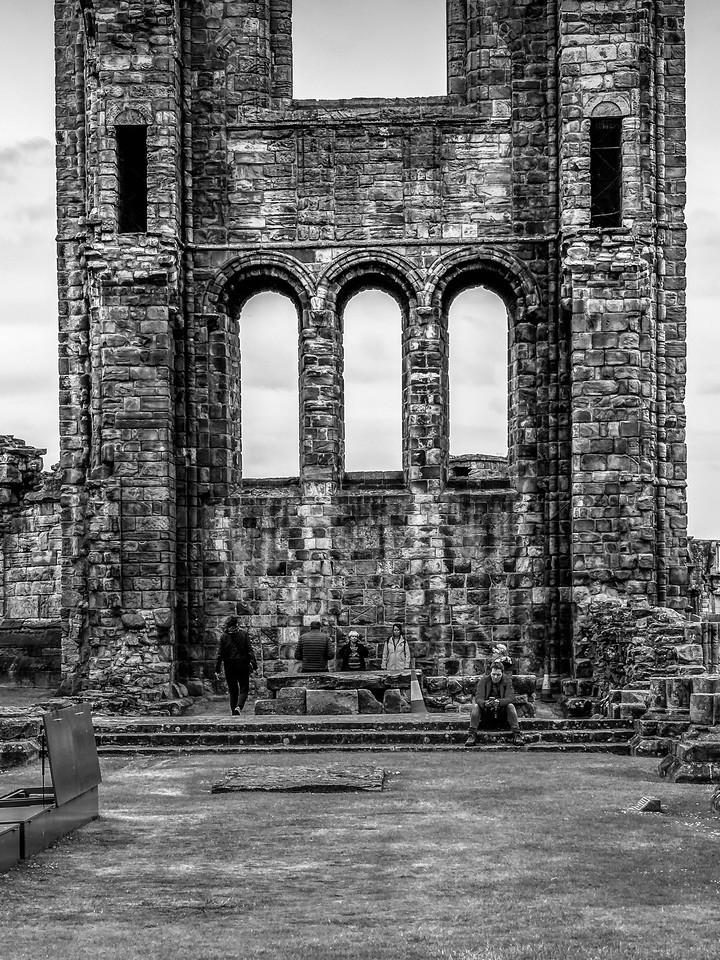 苏格兰圣安德鲁主教座堂(Cathedral of St Andrew)遗迹,曾经的辉煌 ..._图1-20