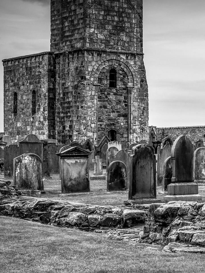 苏格兰圣安德鲁主教座堂(Cathedral of St Andrew)遗迹,曾经的辉煌 ..._图1-27
