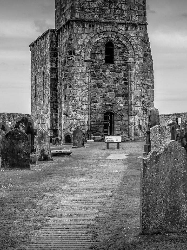 苏格兰圣安德鲁主教座堂(Cathedral of St Andrew)遗迹,曾经的辉煌 ..._图1-26