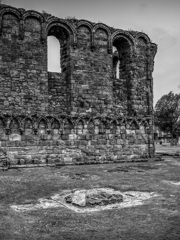 苏格兰圣安德鲁主教座堂(Cathedral of St Andrew)遗迹,曾经的辉煌 ..._图1-25