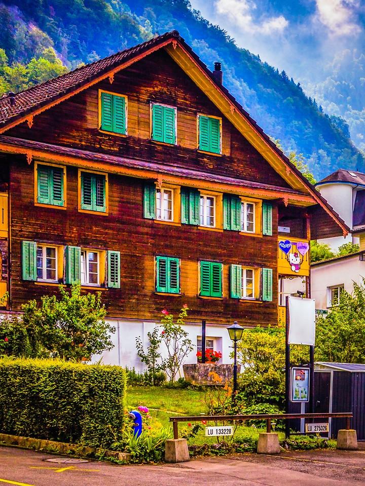 瑞士卢塞恩(Lucerne),特色建筑_图1-16