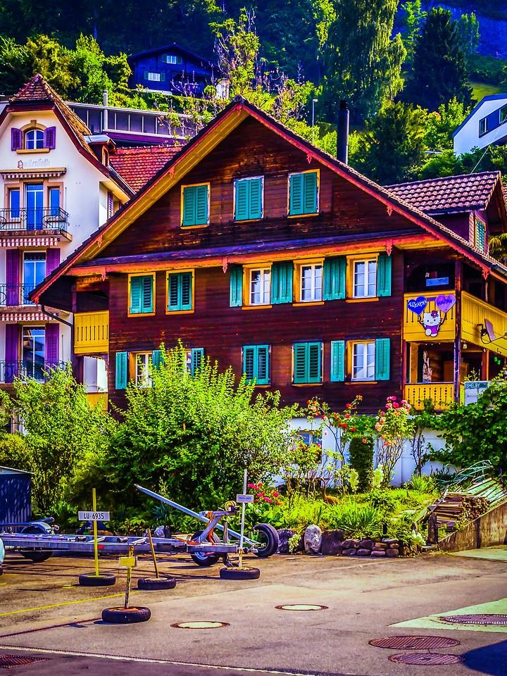 瑞士卢塞恩(Lucerne),特色建筑_图1-10