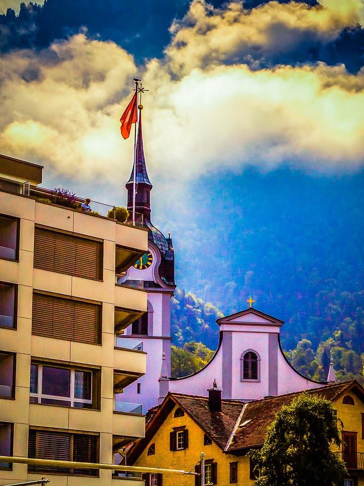 瑞士卢塞恩(Lucerne),特色建筑_图1-6