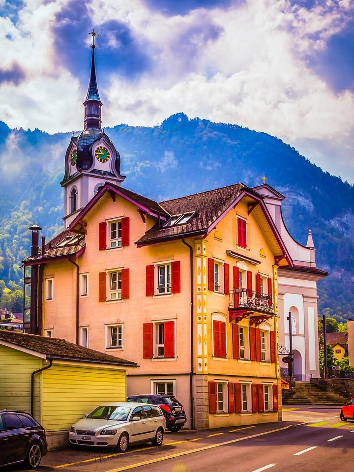 瑞士卢塞恩(Lucerne),特色建筑_图1-1