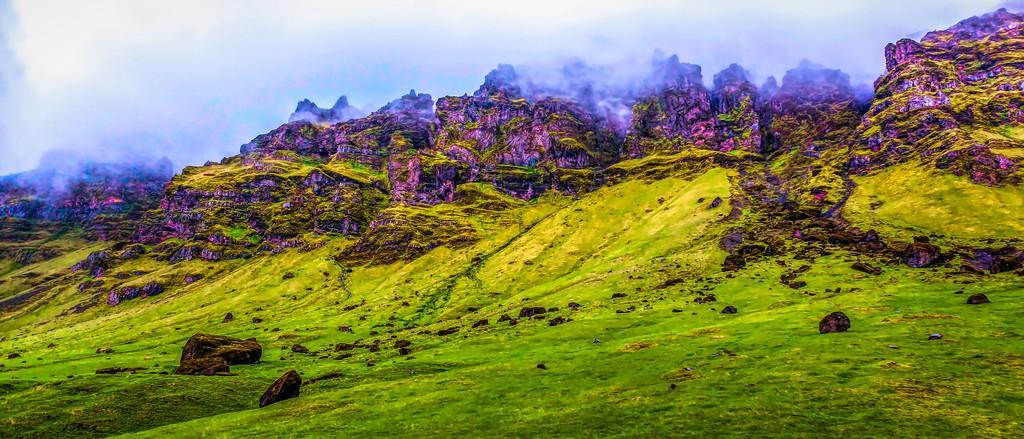 冰岛风采,天然油画_图1-12