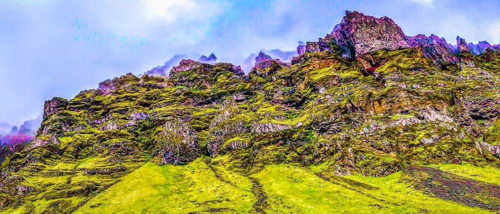 冰岛风采,天然油画_图1-10