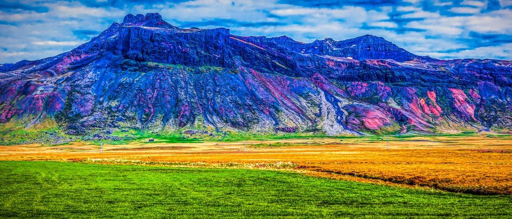 冰岛风采,天然油画_图1-7