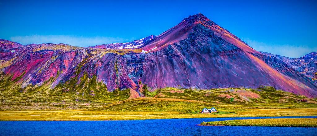 冰岛风采,天然油画_图1-11