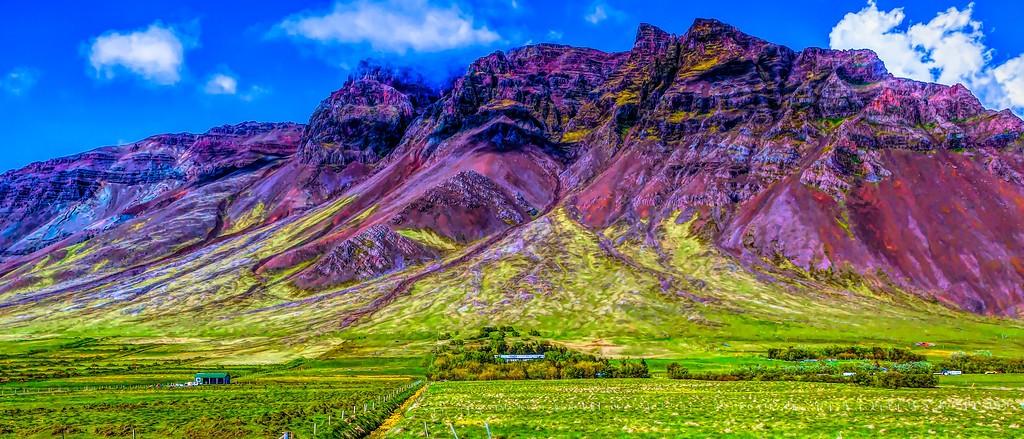 冰岛风采,天然油画_图1-9