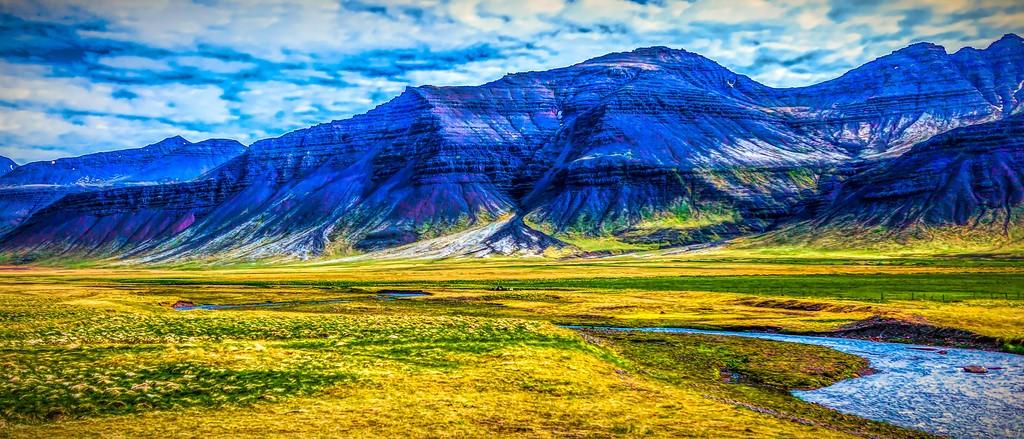 冰岛风采,天然油画_图1-5