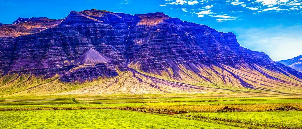 冰岛风采,天然油画_图1-15