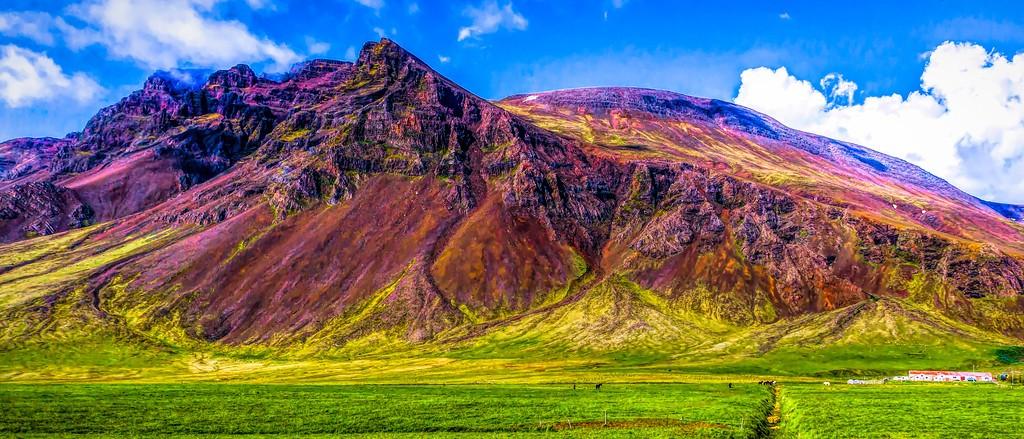 冰岛风采,天然油画_图1-1