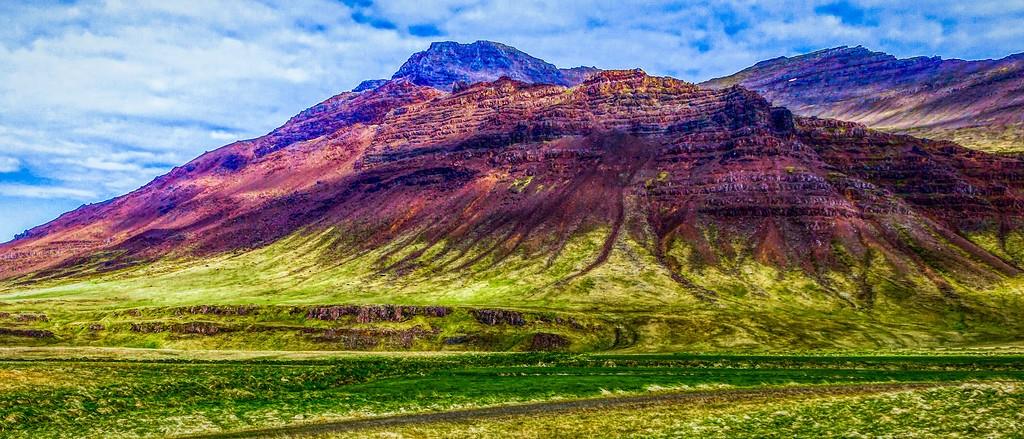 冰岛风采,天然油画_图1-8