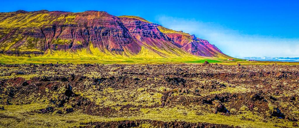 冰岛风采,天然油画_图1-2