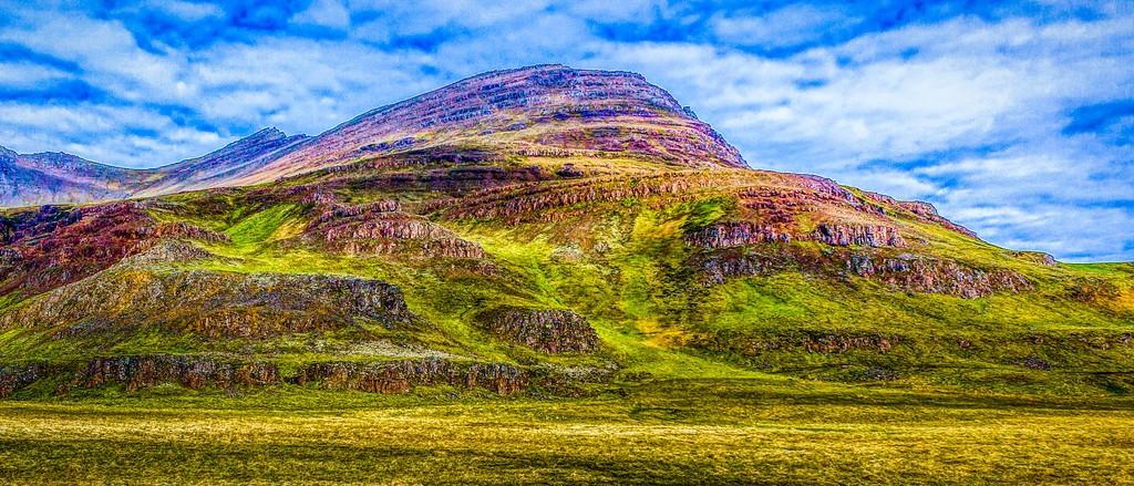 冰岛风采,天然油画_图1-24