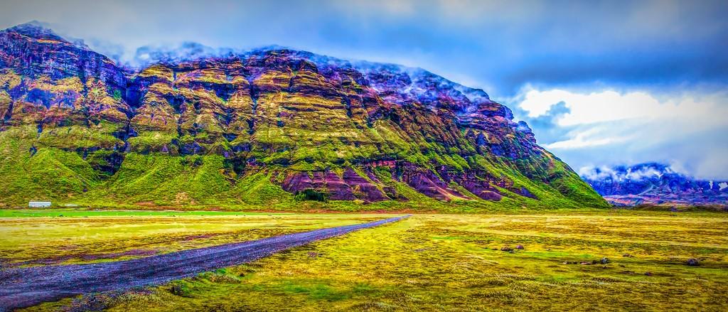 冰岛风采,天然油画_图1-23