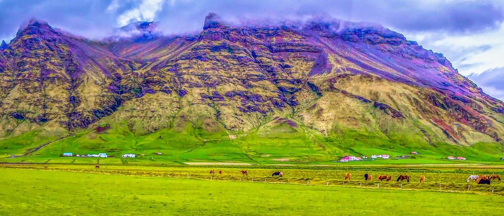 冰岛风采,天然油画_图1-18