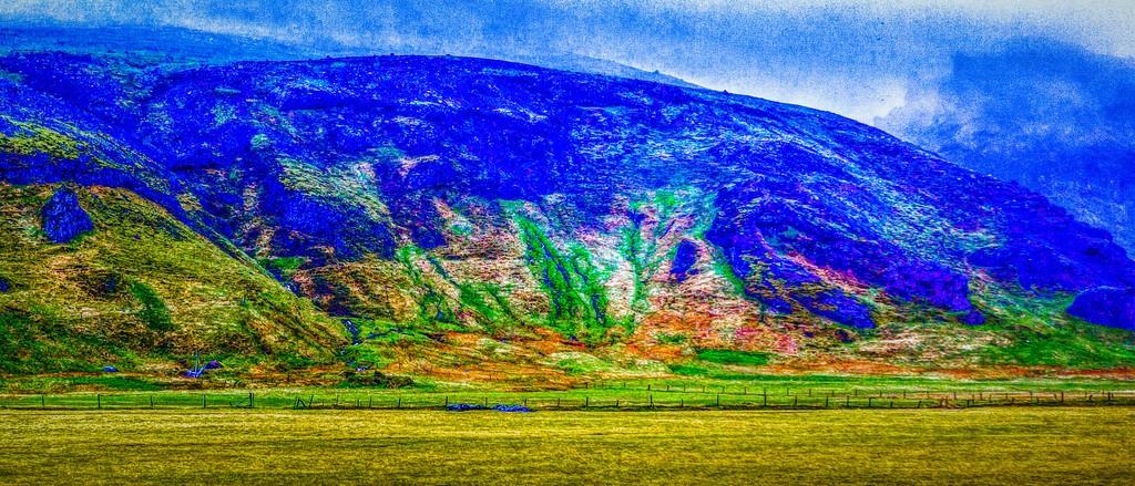 冰岛风采,天然油画_图1-22
