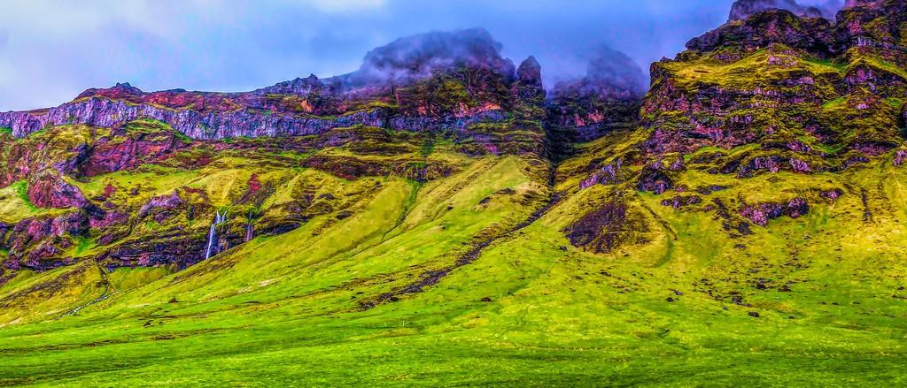 冰岛风采,天然油画_图1-21