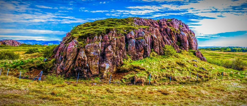 冰岛风采,天然油画_图1-29